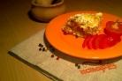 Кабачки в духовке под сметанным соусом
