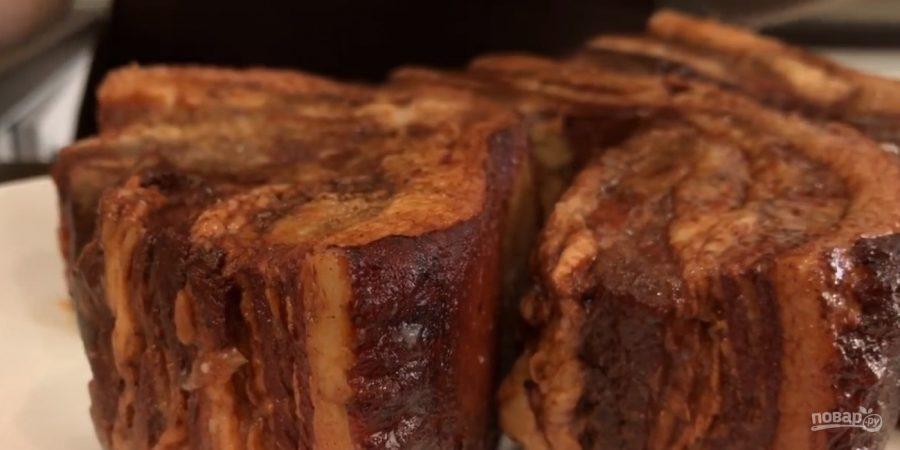 Сало в луковой шелухе (просто и вкусно)