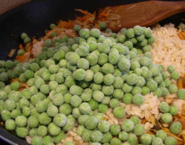 Пудинг овощной