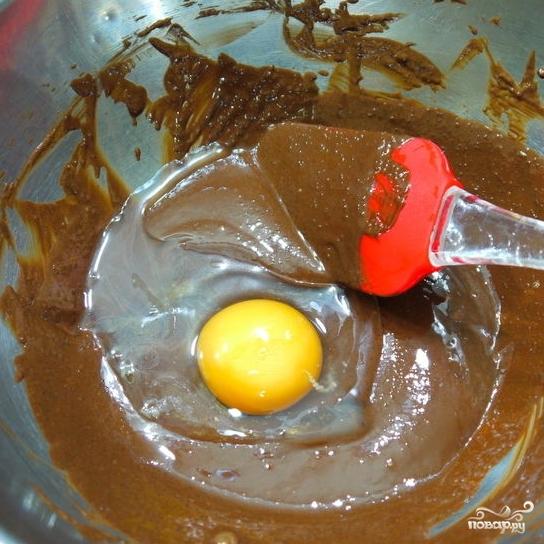 Тройной шоколадный пудинг