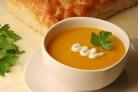 Суп из тыквы на овощном бульоне