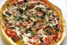 Пицца с копчёной колбаской