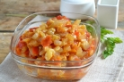 Икра кабачковая с перцем и помидорами
