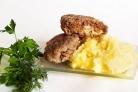 Зразы из манки с мясом