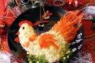 Салат Золотой петушок