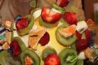 Канапе к шампанскому из фруктов