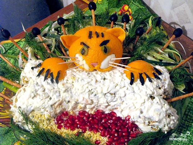 Салат животные рецепты с фото