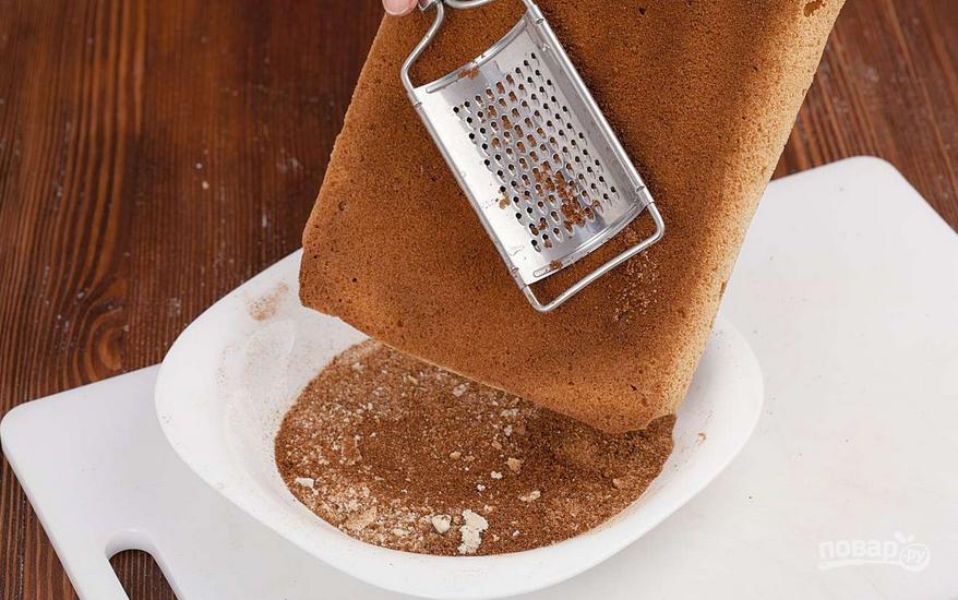как приготовить бисквитное пирожное