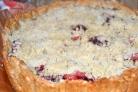 Сливово-яблочный пирог