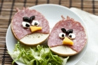 Бутерброды Angry Birds