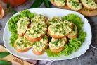 Бутерброды с плавленым сыром