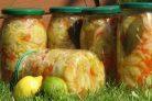 Салат из огурцов на зиму Вкусный