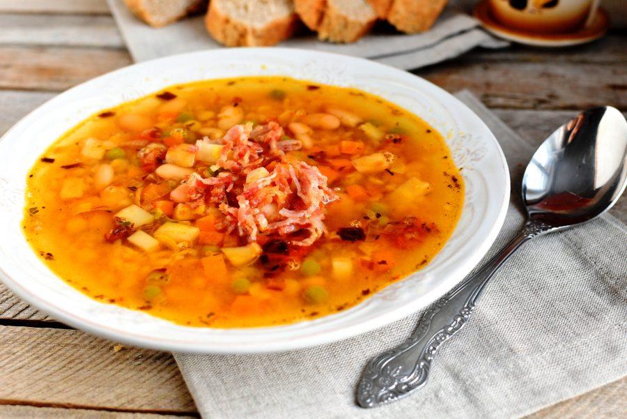 Суп бобовый