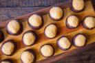 Шоколадно-арахисовые шарики