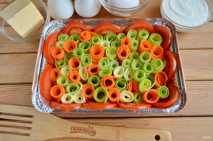 Как приготовить запеканку из овощей
