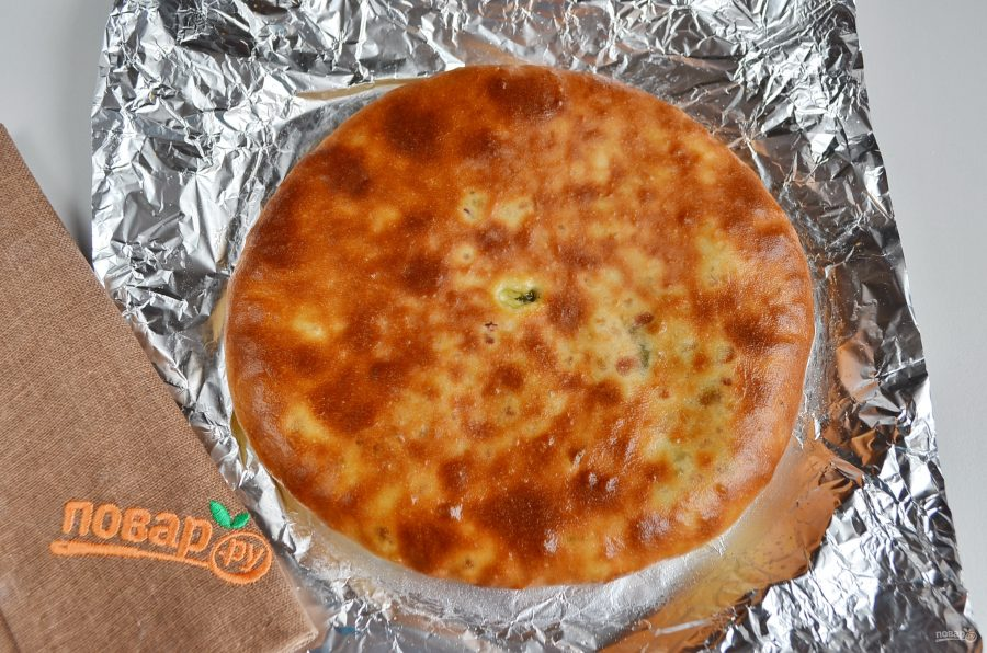 """Осетинский пирог """"Сахараджин"""""""