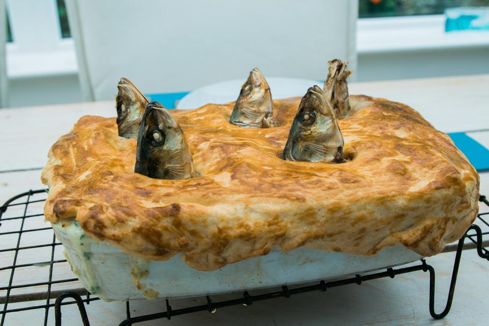 Пирог Старгази (английский деликатес)