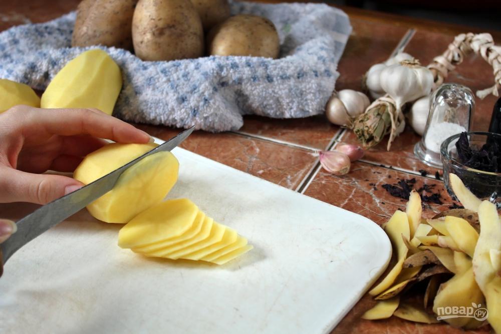 Слайсы картофеля