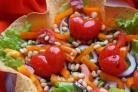 Овощной салат с бальзамическим уксусом