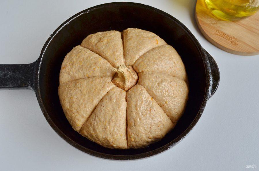 Тесто для тыквенного хлеба