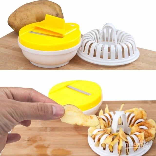Устройство для приготовления чипсов в микроволновке