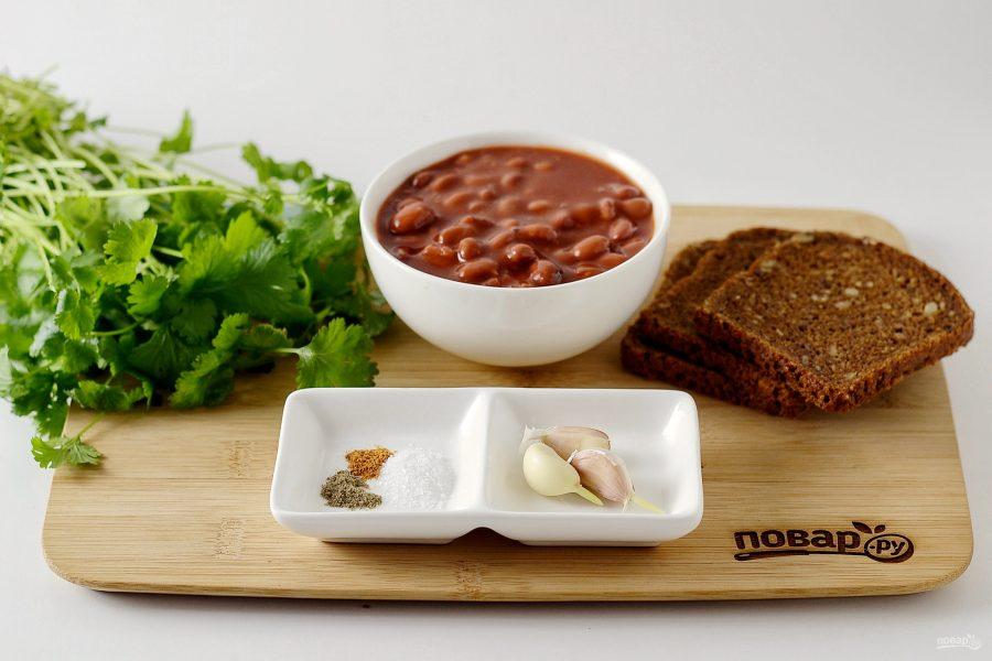 Салат из консервированной красной фасоли