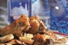 Жаркое из индейки с картошкой в мультиварке