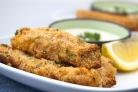 Рыбные палочки с соусом из петрушки - рецепт с фото на Повар.ру