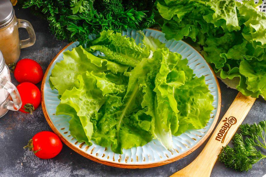ПП салат с шампиньонами