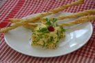 Салат из печени с яблоком