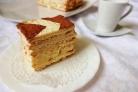 Торт с заварным кремом на скорую руку