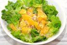 Апельсиновый салат с зеленью