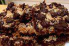 Пирог из крекеров со сгущенкой и шоколадом