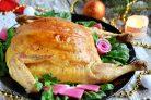Курица, фаршированная блинами (праздничная)