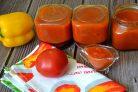 Кетчуп из помидоров и яблок на зиму
