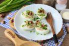 Яйца фаршированные орехами