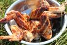 Чатни c барбекю из куриных крылышек, пошаговый рецепт с фото