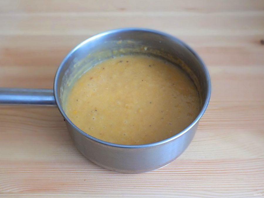 Гороховый суп с уткой
