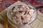 Рисовый пудинг с изюмом и миндалем