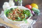 Овощной салат с булгуром Кысыр