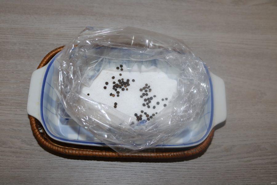 Говядина, маринованная в водке