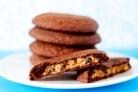 Шоколадное печенье с ванилью