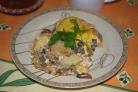 Картошка с шампиньонами в духовке