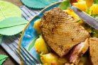 Утиное мясо простой рецепт