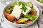 Легкий салат Греческий