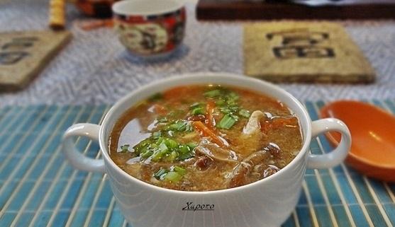 Кисло-сладкий суп