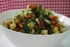 Салат из нута и перца