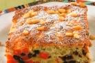 Пудинг из моркови и яблок