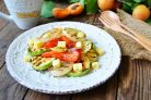 Салат из кабачков и сладкого перца