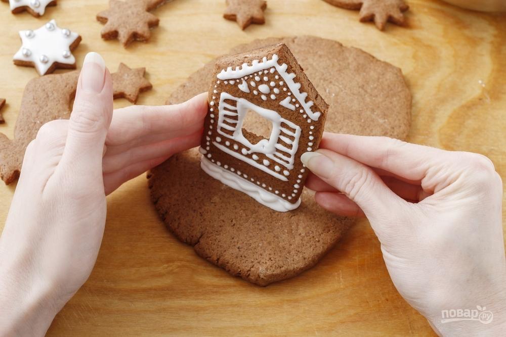 Как сделать имбирный домик к Новому году